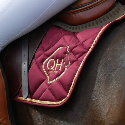 Czaprak Queen Horse High Quality Grey & Black